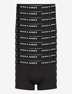 JACSOLID TRUNKS 10 PACKS - boxers - black