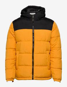 JJPAUL PUFFER HOOD - donsjassen - golden orange
