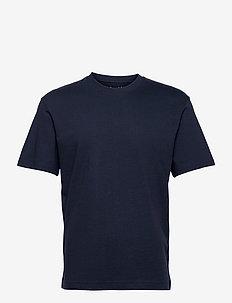 JJERELAXED TEE SS O-NECK - basic t-shirts - navy blazer