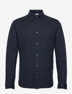 JJEPIQUE SHIRT L/S - basic skjortor - navy blazer
