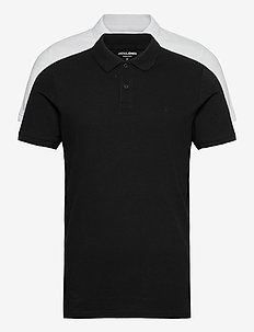 JJEBASIC POLO SS 2PK MP - kortärmade pikéer - black