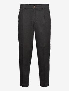 JJIBILL JJRICO CROPPED AKM 000 BLACK - kostymbyxor - black