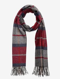 JACSIMON SCARF - scarves - brick red