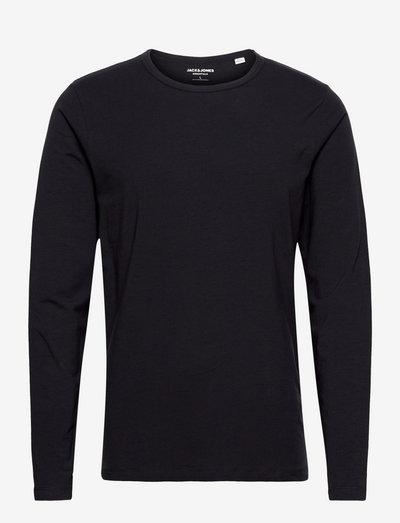 JJEBASIC O-NECK TEE L/S - basic t-shirts - navy blue