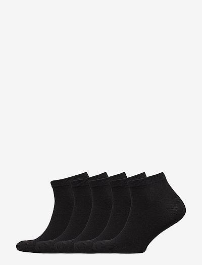 JACDONGO SOCKS 5 PACK - ankelstrumpor - black