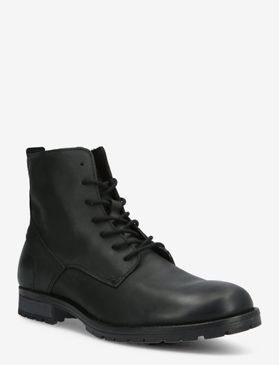 JFWORCA LEATHER ANTHRACITE 19 SN - med snøre - anthracite