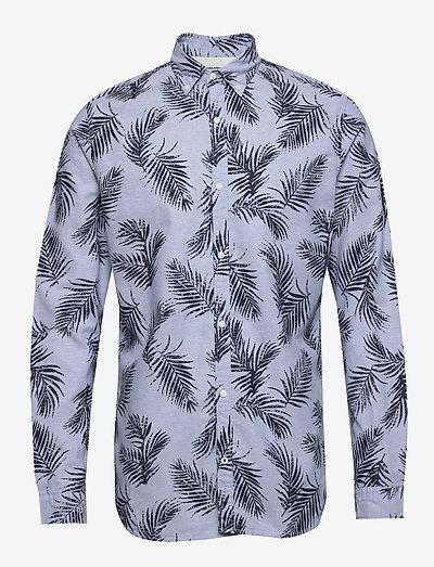 JPRBLASUMMER LEAF SHIRT L/S S20 - casual - cashmere blue