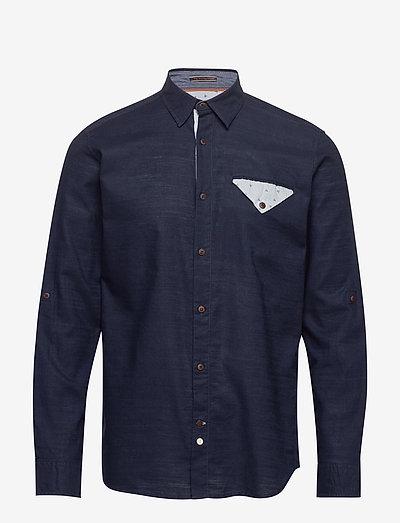 JORCHANDLER SHIRT LS - basic skjorter - navy blazer