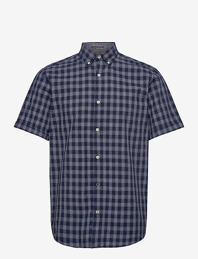 JORDENNIS SHIRT SS - ternede skjorter - navy blazer