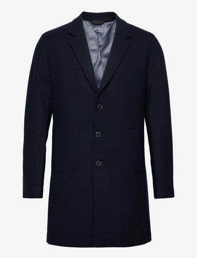 JJEMOULDER WOOL COAT - vinterfrakker - navy blazer