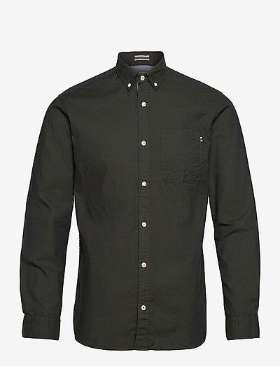 JJECLASSIC SOFT OXFORD SHIRT L/S - basic skjorter - olive night