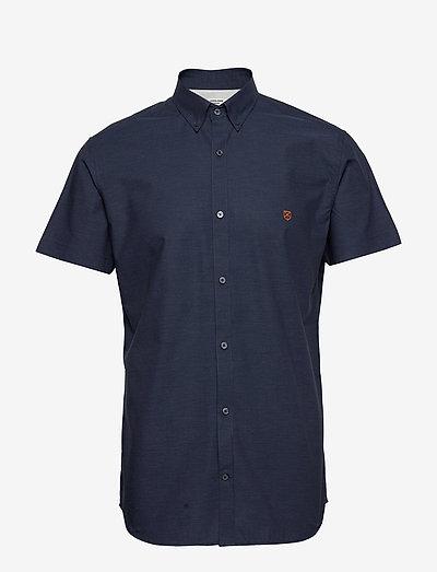JPRBLASPRING OTTO SHIRT S/S - basic skjorter - navy blazer
