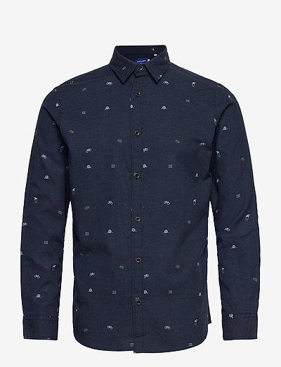 JORFUEL SHIRT LS - casual - navy blazer