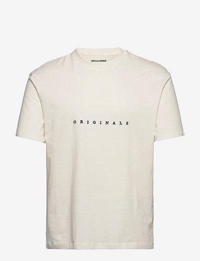 JORCOPENHAGEN TEE SS CREW NECK - kortærmede t-shirts - cloud dancer