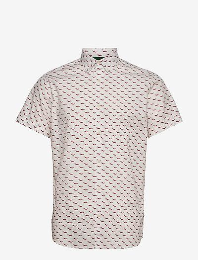 JORANDREW SS SHIRT SH - kortærmede skjorter - white