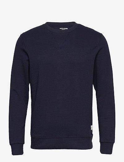 JJEBASIC SWEAT CREW NECK - overdele - navy blazer