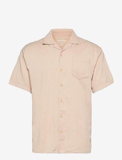 JORALEC SHIRT SS BLK - basic skjorter - crockery