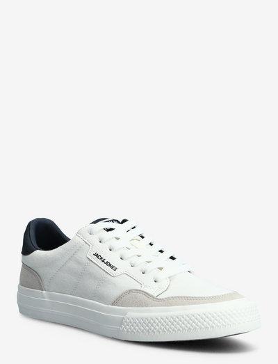JFWMORDEN COMBO WHITE/NAVY - lave sneakers - white