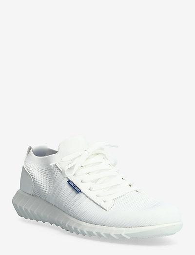 JFWTYSON MESH BRIGHT WHITE - lave sneakers - white