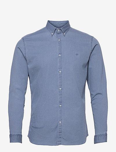 JPRBLALOGO STRETCH DENIM SHIRT L/S STS - basic skjorter - light blue denim