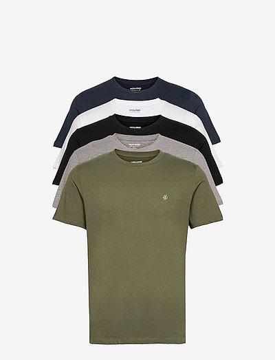 JORJXJ TEE SS CREW NECK 5MP - basic t-shirts - white