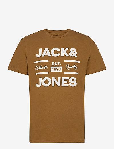JOROLIVER TEE SS CREW NECK - kortærmede t-shirts - rubber