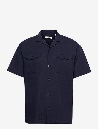 JPRBLASUMMER POCKET RESORT SHIRT S/S - basic skjorter - navy blazer