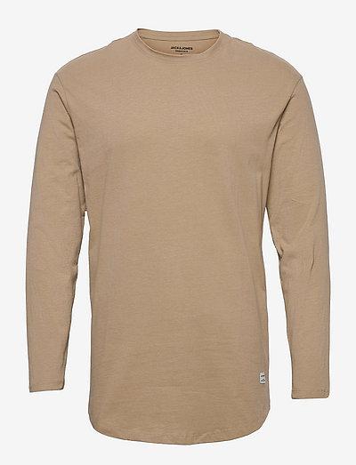 JJENOA TEE O-NECK LS - basic t-shirts - crockery