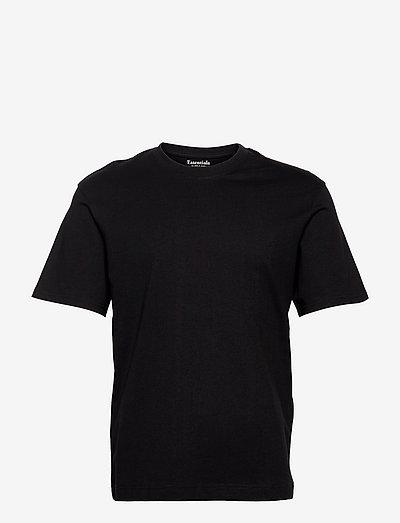 JJERELAXED TEE SS O-NECK - basic t-shirts - black