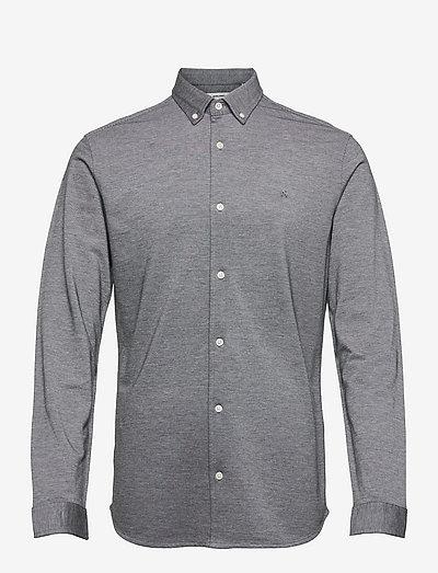 JJEPIQUE SHIRT L/S - basic skjorter - light grey melange