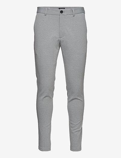JJIMARCO JJPHIL NOR LGM - chinos - light grey melange