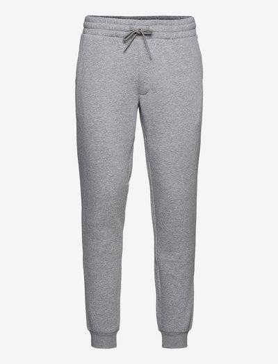 JJIGORDON JJSOFT SWEAT PANT GMS - joggingbyxor - light grey melange