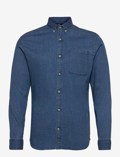 JPRBLAPERFECT DENIM SHIRT L/S - basic skjorter - medium blue denim