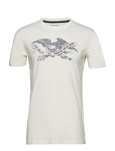 JPRBOB TEE SS CREW NECK - CLOUD DANCER