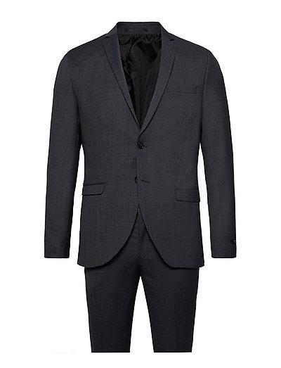 JACK & JONES Jprsolaris Suit Anzug Grau JACK & J S
