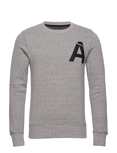 jprMATT SWEAT CREW NECK OFW 26 - LIGHT GREY MELANGE