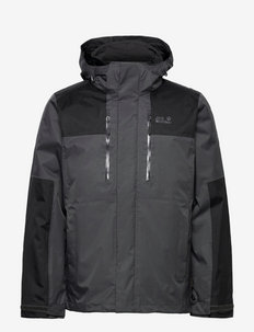 JASPER 3IN1 MEN - vestes d'extérieur et de pluie - ebony