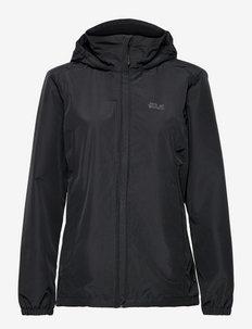 STORMY POINT JACKET W - vestes d'extérieur et de pluie - black