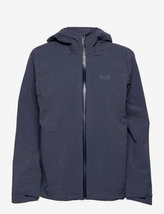 HIGHEST PEAK JACKET W - vestes d'extérieur et de pluie - graphite