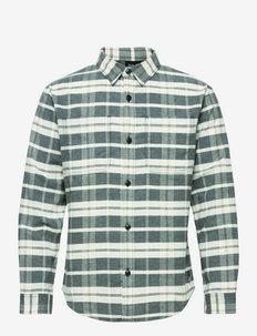 NATURE TIME SHIRT M - chemises décontractées - phantom checks