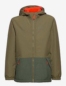 SNOWY DAYS JACKET KIDS - softshell jacket - burnt olive