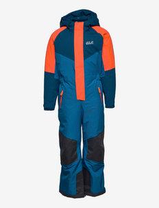 GREAT SNOW SNOWSUIT KIDS - snowsuit - blue pacific