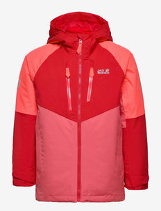 GREAT SNOW JACKET KIDS - windjacken - coral pink
