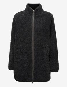 HIGH CLOUD COAT W - fleece - phantom