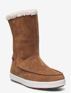 AUCKLAND WT TEXAPORE BOOT H W - chaussures de randonnée - desert brown / white