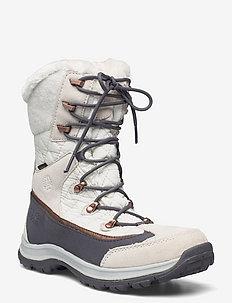 ASPEN TEXAPORE HIGH W - chaussures de randonnée - white / silver