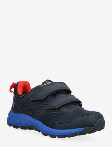 WOODLAND TEXAPORE LOW VC K - baskets basses - dark blue / red