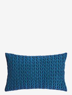 Braided Cushion cover - coussins - blue