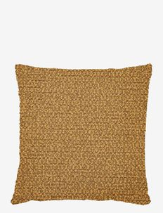 Boucle moment Cushion cover - coussins - brown