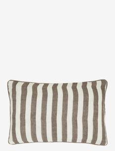 Sagamore stripe Cushion cover - cushion covers - brown